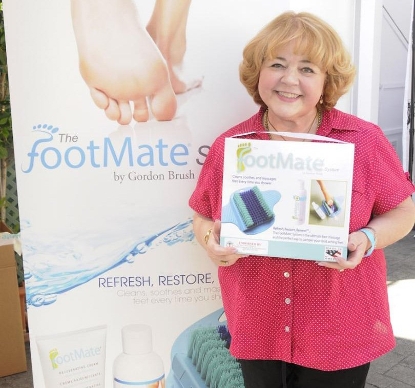 Patrika Darbo picked up The FootMate® System
